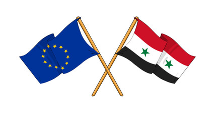 European Union and Syria alliance and friendship