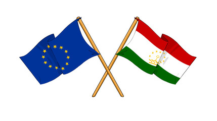 European Union and Tajikistan alliance and friendship