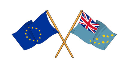 European Union and Tuvalu alliance and friendship