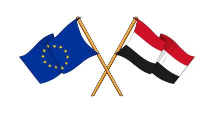 European Union and Yemen alliance and friendship