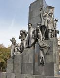 Taras Shevchenko monument in Kharkov poster