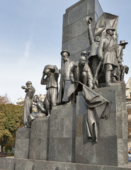 Taras Shevchenko monument in Kharkov