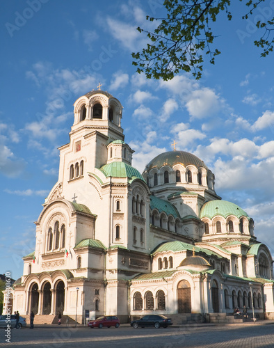 Memorial Church of St. Alexander Nevsky. Sofia, Bulgaria