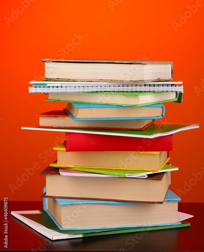 Stack of interesting books and magazines