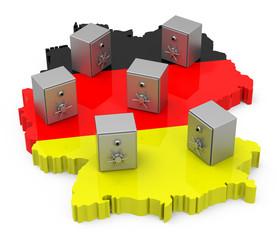 Die deutschen Spareinlagen