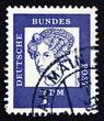 Postage stamp Germany 1961 Annette von Droste-Hulshoff, Writer a