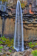 Svartifoss waterfall in HDR, Iceland