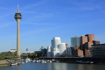 Düsseldorf Panorama Skyline
