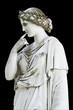Ancient statue of a Greek mythical muse - 46414086