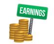 earnings illustration design