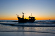 obraz - Fisherman Boat wit...