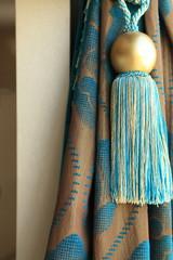 Luxury curtain detail