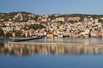 Argostoli city at Kefalonia island in Greece
