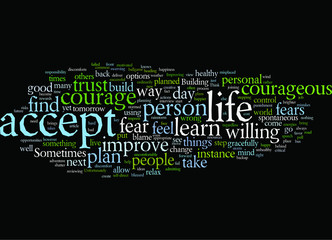 Building Courage to Improve your Personal Life
