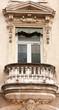 balcon façade immeuble, Avignon, France