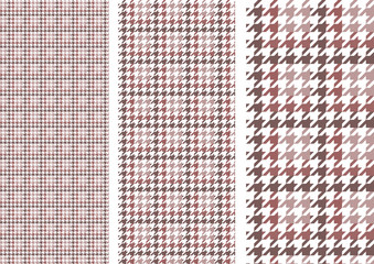 Houndstooth(grayish brown)