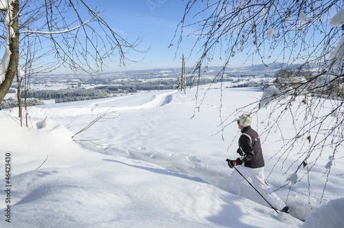 Winteridylle beim Schneeschuhwandern