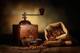 Fototapety antico macinino da caffè