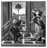 Annunciation : Virgin Mary & Archangel Gabriel
