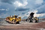 Fototapeta mineral - metal - Widok Przemysłowy