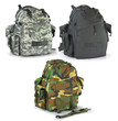 Military or survival  hunters  backpacks set isolated on white