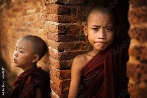 Two Novice monk