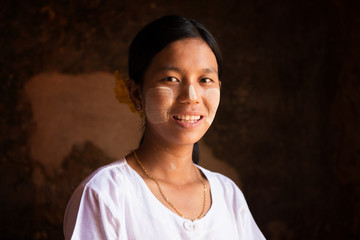 Myanmar girl portrait