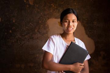 Myanmar student