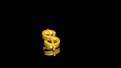 Falling and bounding dollar - Dollaro che cade e rimbalza