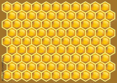 Honeycomb  pattern background