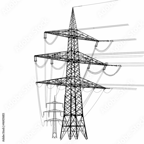 Electricity Pylon - 46431683