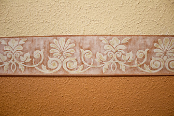 Valance on wall