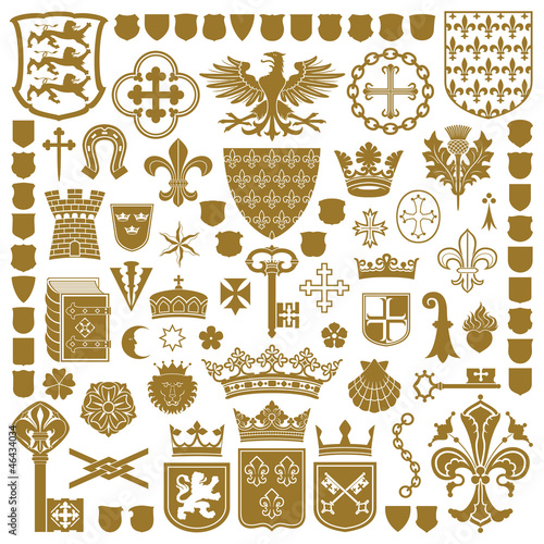 HERALDRY Symbols and decorations