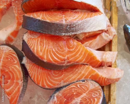 fresh salmon cut for sale