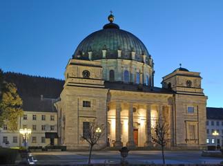 der bekannte Dom von St.Blasien im Schwarzwald