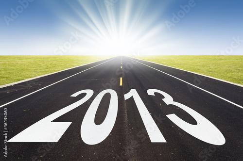 2013, route et soleil