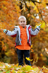 Freude im Herbst