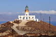 Mykonos island lighthouse
