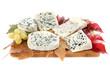 plateaux de fromages bleus