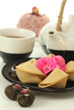 Fortune cookies and tea