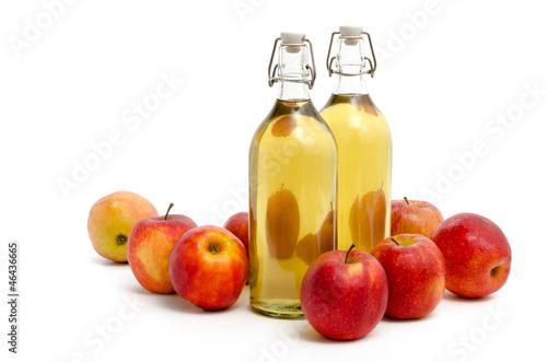 Selbstgemachter Apfelsaft