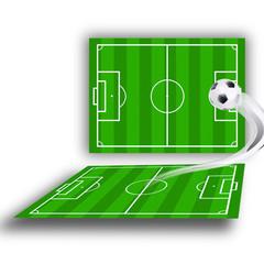 green soccerfields