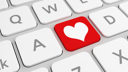 Love on keyboard