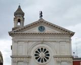 The Maddalena church in Mola di Bari in Apulia in Italy poster
