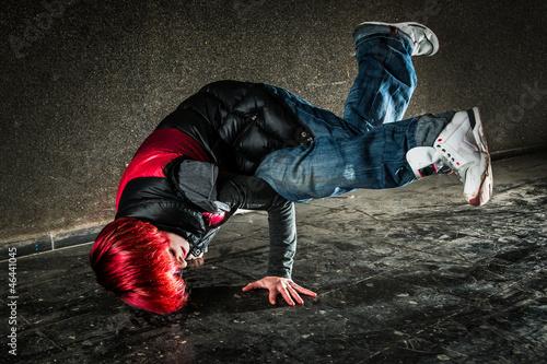 Foto op Plexiglas Dance School Hip Hop Tänzerin