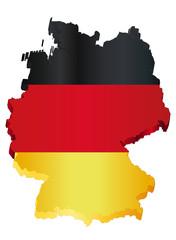 3d deutschland karte