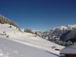 Almhütten im Schnee