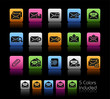 E-mail Icons / The vector file includes 5 colors