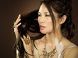 asian glamour woman