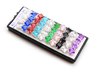 925 Sterlng Silver Crystal Earrings